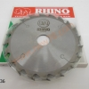 """ใบเลื่อยวงเดือน RHINO 6""""x20T 047C02"""