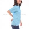 เสื้อโปโล สีฟ้าอ่อน TK Premium แขนสั้น ทรงเว้า (หญิง) Size XL
