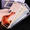 เคส iPhone 6/6s กระจกสะท้อน (สีทอง/เงิน/ดำ/ชมพู) TPU แท้