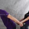 4XL เสื้อยืด สีม่วงเข้ม คอกลม แขนสั้น Size 4XL