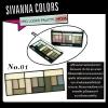 SIVANNA COLORS Pro Looks palette โปร ลุค พาเลท No.01