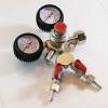 CO2 Regulator Dual Gauge - Standard type (2-way splitter)