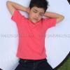 เสื้อยืดเด็ก สีชมพู Sweety คอกลม แขนสั้น Size XL
