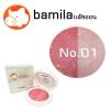 บลัชออน บามิร่า Soft Bright Cute Pink Blush No.01