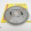 """ใบเลื่อยวงเดือน SUPER M 7""""x30T 15 TSPMV7/30"""