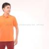 เสื้อโปโล สีส้ม TK Premium แขนสั้น ทรงตรง Size L