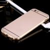 เคส iPhone 5/5s อลูมิเนียม+อะคริลิค ฝาหลัง (สีทอง)