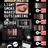 Sivanna make up palete ทาตา8สี+ปัดแก้ม2สี(NO.3)