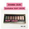 เซทอายแชโดว์ 8 สี Sivanna Colors eyeshadow (NO.6)