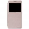 เคสฝาพับ Lenovo A7000 (Sparkle Leather Case nillkin แท้ สีทอง)