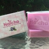 สบู่ Natcha Gluta Blueberry White Soap สีม่วง