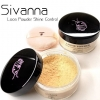 แป้งฝุ่น SIVANNA Loose Powder Shine-Control Sheer-Long Wear(เบอร์4)