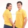 เสื้อโปโล สีเหลือง TK Premium แขนสั้น ทรงตรง Size 3XL