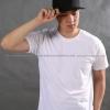 2XL เสื้อยืด สีขาว คอกลม แขนสั้น Size 2XL