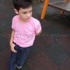 เสื้อยืดเด็ก สีชมพูอ่อน คอกลม แขนสั้น Size 2XL สำเนา