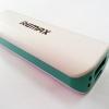 PowerBank REMAX แท้ 2600mAh สีเขียววินเทจ