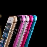 เคส iPhone 5/5s เฟรมอลูมิเนียม (สีทอง/เงิน/ดำ/ฟ้า/ชมพู)