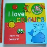 I Love Colours (Flap Book) ราคา 150