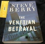 The Venetian Betrayal by Steve Berry ราคา 250