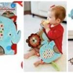 หนังสือผ้าตุ๊กตาพี่ช้างและผองเพื่อนแสนสนุก skip hop