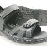 Leather sandal with backstrap (men)