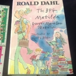 The Bfg, Matilda ,george's marvellous medicine รวมผลงานRoald Dahlสามเรื่อง ปกแข็ง เล่มหนา ราคา 500