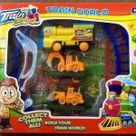 รถไฟบรรทุกรถก่อสร้าง