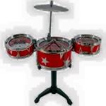 กลอง Jazz Drum กลองชุด 3 ใบ