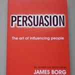 Persuasion: The Art of Influencing People By James Borg ราคา 200