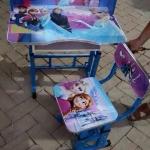 โต๊ะเขียนหนังสือเด็ก-ลายเอลซ่า