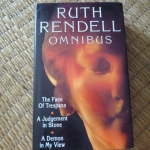 Ruth Rendell Omnibus The Face of Trespass , A Judgement in Stone ,A Demon in My View hardback ราคา 290