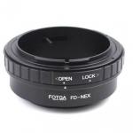 แหวนแปลงเลนส์ Canon FD to NEX Adaptor FD-NEX ยีห้อ Fotga