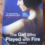 The Girl Who Played with Fire (Millennium II) By Stieg Larsson ราคา 200
