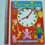 Telling The Time (Clock Book) ราคา 100