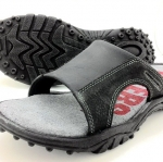 Leather sandals without backstrap (men)