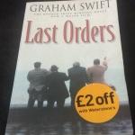 Last Orders by Graham Swift ราคา 150