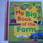 My Big Book of FARM (Board Book) ราคา 200