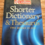 Collins Shorter Dictionary & Thesaurus (Two Books in One) ราคา 350