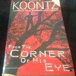 From the Corner of His Eye by Dean Koontz ราคา 150