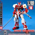 1/100 SCALE MODEL GUNDAM ASTRAY RED FRAME กันดั้ม แอสเทรย์ เรดเฟรม