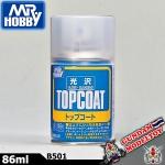 เคลียร์เงา MR.HOBBY TOP COAT GLOSS SPRAY สีสเปรย์เคลียร์เงา มิสเตอร์ฮอบบี้