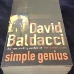 Simple Genius by David Baldacci ราคา 270