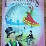 Round the World in Eighty Days By Jules Verne hardback ราคา 170