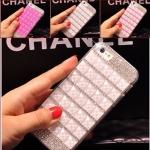 เคส iPhone 6 plus/6s plus ชมพู ประดับคริสตัลหรูหราเลอค่า