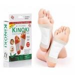 แผ่นแปะเท้าดูดสารพิษ Cleansing Detox Foot Pads Kinoki