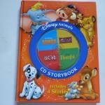 Disney Animals (Book and CD): Dumbo/ Lion King/ 101 Dalmatians/ Bambi ราคา 250