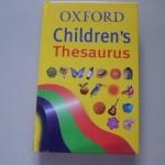 Oxford Children's Thesaurus ราคา 150
