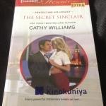 The Secret Sinclair by Cathy Williams ราคา 100