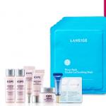 พร้อมส่ง LANEIGE mask pack 5 sheets WATER BANK double gel soothing mask