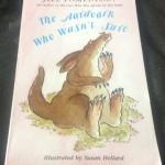 The Aardvark Who Wasn't Sure by Jill Tomlinson ราคา 100